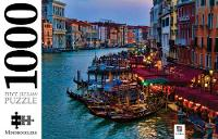 Grand Canal at Dusk, Venice, Italy by