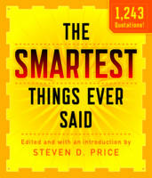 The Smartest Things Ever Said by Steven Price