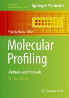 Molecular Profiling Methods and Protocols by Virginia Espina