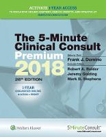 5-Minute Clinical Consult Premium 2018 by Frank J., MD Domino