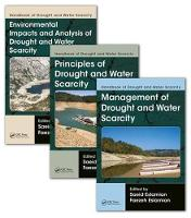 Handbook of Drought and Water Scarcity (Three-Volume Set) by Saeid Eslamian