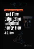Load Flow Optimization and Optimal Power Flow by J. C. Das