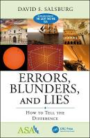 Errors, Blunders and Lies: How to Tell the Difference by David Salsburg