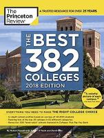 Best 381 Colleges, 2018 Edition by Princeton Review