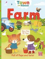 Farm A board book filled with flaps and facts by Pat-a-Cake, Rebecca Gerlings