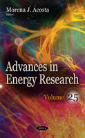Advances in Energy Research by Morena J. Acosta