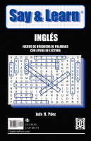 Say & Learn Word Search Puzzles with Reading Help by Luis H Paez, Luis H Pez