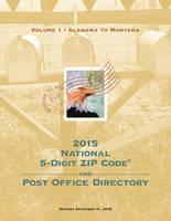 2015 National Zip Code Directory by U.S. Postal Service