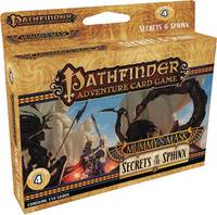 Pathfinder Adventure Card Game: Mummy's Mask Adventure Deck 4: Secrets of the Sphinx by Mike Selinker, Lone Shark Games