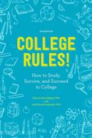 College Rules!, 4Th Edition by Sherrie L. Nist-Olejnik, Jodi Patrick Holschuh