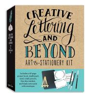 Creative Lettering and Beyond Art & Stationery Kit Includes a 40-page project book, chalkboard, easel, chalk pencils, fine-line marker, and blank note cards with envelopes by Gabri Joy Kirkendall, Julie Manwaring, Laura Lavender, Shauna Lynn Panczyszyn