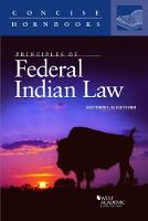 Principles of Federal Indian Law by Matthew Fletcher