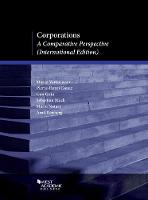 Corporations A Comparative Perspective by Marco Ventoruzzo