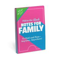 Knock Knock Fill in the Love Notes for Family by