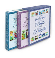 Candle Day by Day Bible and Prayers Gift Set by Juliet David