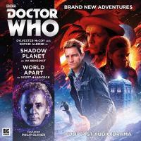 Doctor Who Main Range: Shadow Planet / World Apart by A. K. Bennett, Scott Handcock, Steve Foxon
