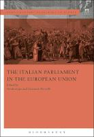 The Italian Parliament in the European Union by Nicola Lupo