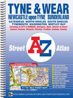 Tyne & Wear Street Atlas by Geographers A-Z Map Co. Ltd.