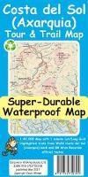 Costa del Sol (Axarquia) Tour and Trail Super-Durable Map by David Brawn