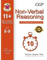 10-Minute Tests for 11+ Non-Verbal Reasoning Ages 8-9 - CEM Test by CGP Books