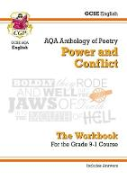 New GCSE English Literature AQA Poetry Workbook: Power & Conflict Anthology (Includes Answers) by CGP Books