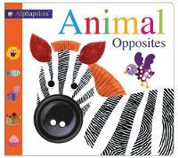 Alphaprints Animal Opposites by Roger Priddy