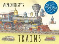 Stephen Biesty's Trains Cased Board Book with Flaps by Ian (Author) Graham