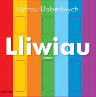 Llyfrau Llabedwych: Lliwiau/Colours by Charlie Gardner