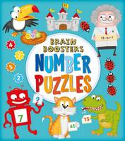 Brain Boosters: Number Puzzles by Kate Overy