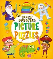Brain Boosters: Picture Puzzles by Kate Overy