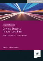 Driving Success in Your Law Firm Revolutionising the Client Journey by Eddie Ross, Sally Holdway