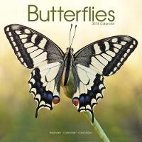 Butterflies Calendar 2018 by Avonside Publishing Ltd.