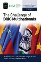 The Challenge of BRIC Multinationals by Rob van Tulder