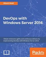 DevOps with Windows Server 2016 by Ritesh Modi