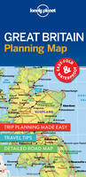 Lonely Planet Great Britain Planning Map by Lonely Planet