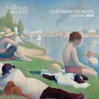 National Gallery - Post-Impressionists - mini wall calendar 2018 (Art Calendar) by Flame Tree Studios