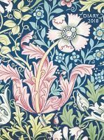 William Morris - Compton Pocket Diary 2018 by Flame Tree Studios