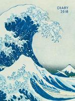 Japanese Woodblock - Hokusai Great Wave Pocket Diary 2018 by Flame Tree Studios
