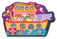 Jigsaw Puzzle: Noah's Ark - A Bible Jigsaw and Story Book 250 x 205 x 80 by North Parade Publishing