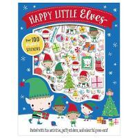 Happy Little Elves Puffy Sticker Activity by Dawn Machell