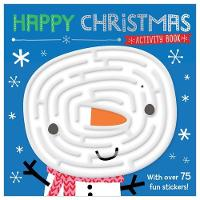 Happy Christmas Activity Book by