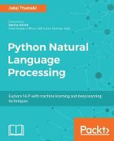 Python Natural Language Processing by Jalaj Thanaki
