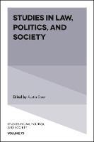 Studies in Law, Politics, and Society by Austin Sarat