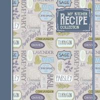 Kitchen Recipe Collection Record Book by Katherine Sully