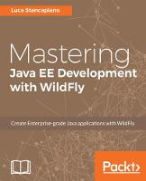 Mastering Java EE Development with WildFly by Luca Stancapiano