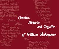 The Shakespeare Flipbook Comedies, Histories and Tragedies of William Shakespeare by Abram Games