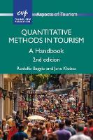 Quantitative Methods in Tourism A Handbook by Rodolfo Baggio, Jane Klobas