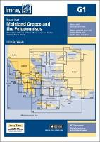 Imray Chart G1 Mainland Greece and the Peloponnisos by Imray
