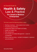 Health and Safety Law and Practice For Small to Medium Enterprises by Samantha Walker