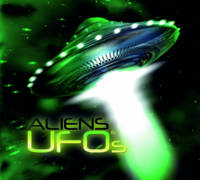 Aliens and UFOs by Christopher Evans